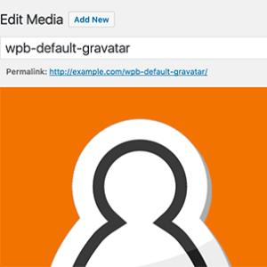 avatar en wordpress