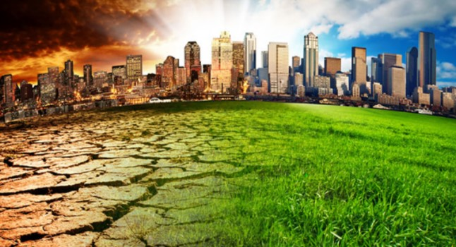 Global Warming karena asap pabrik
