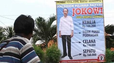 Baliho Jokowi