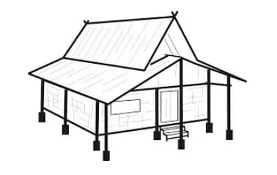 Rumah Adat Jawa Barat Parahu Kureb