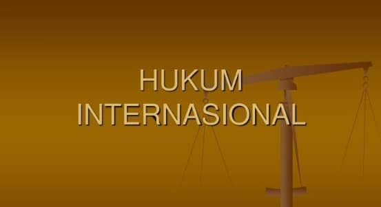 Informasi terkait dengan pengertian hukum internasional lengkap