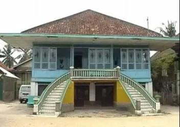 Rumah Gudang khas Palembang