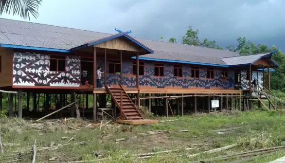 7 Rumah Adat Kalimantan Tengah Gambar Nama Dan Keterangannya