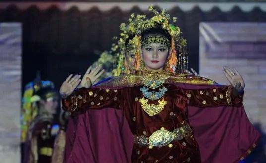 Tarian Gegerit asal Sumatera Selatan Palembang