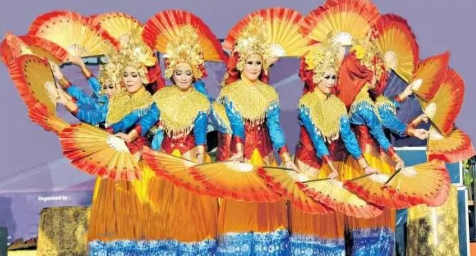 Tarian Daerah Tradisional Sumatera Selatan Gambar Dan