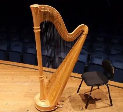 Info terkait dengan alat musik harmonis Harpa dan keterangannya