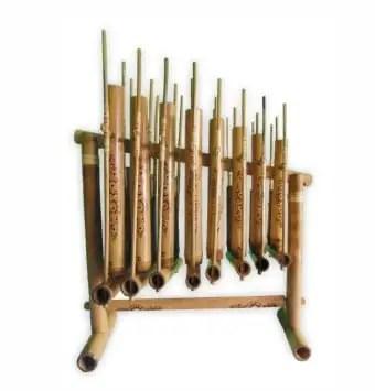 Ulasan mengenai alat musik melodis Angklung yang unik