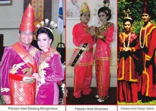 Ulasan mengenai Pakaian Kohongian khas Sulawesi Utara dan Ciri Khasnya