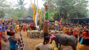 Review Upacara Tiwah Adat Kalimantan Tengah yang masih dilestarikan