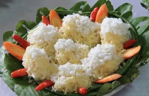 Uraian tentang Makanan Kacimuih Tradisional Sumatera Barat yang gurih