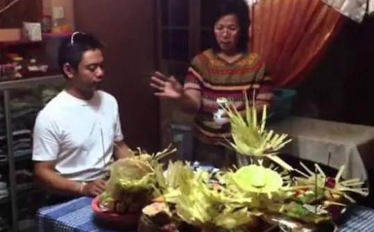 Uraian terkait dengan Otonan Sebagai Upacara Adat Bali