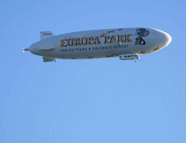 Der obligatorische Zeppelin