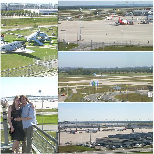 Besuch des Münchner Flughafens