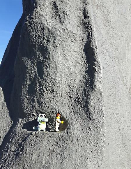 Herr W. und Herbert beim Bergsteigen
