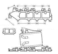 L'impianto di raffreddamento aria AUDI A3 (8V), 12-, OEM