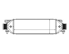 L'impianto di raffreddamento aria LANCIA DELTA (844), OEM
