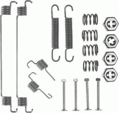 Komplett für Erneuerung Bremssattel Renault Twingo 93-06
