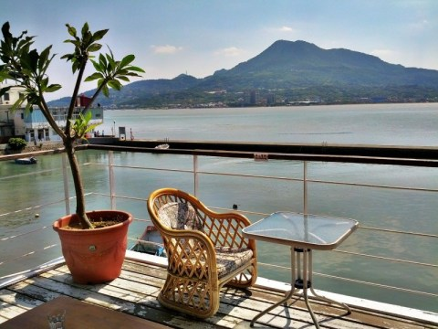 Ancre Cafe view in Danshuei