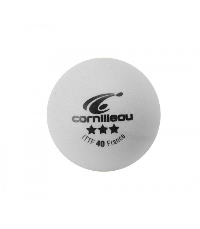 3 CORNILLEAU ELITE ITTF BALLES TENNIS DE TABLE
