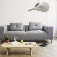 Hat Lamp Suspension Eno Studio - Silvera