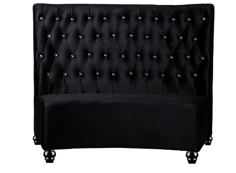Fabric Black Booth