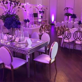 chairs and tables for events