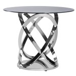Silver Twist Cocktail Table