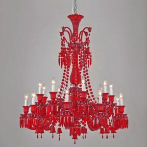 Wynn Chandelier Red