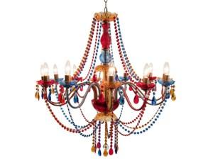 Victoria Multicolor Chandelier
