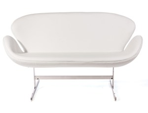 Swan Sofa White