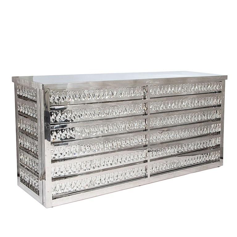 Le Crystal Bar Silver