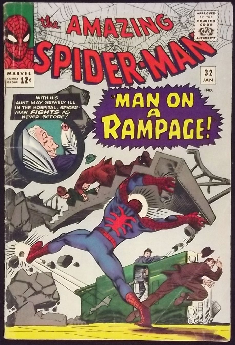 AMAZING SPIDER-MAN #32 VG/FN CLASSIC STEVE DITKO - Silver Age Comics
