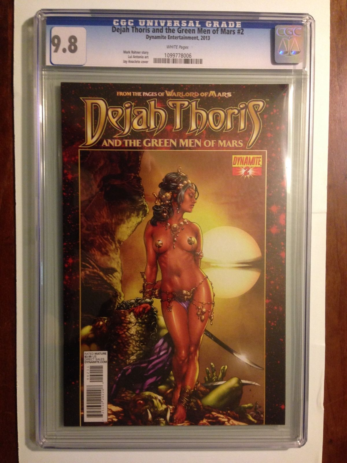 Dejah Thoris and the Green Men from Mars 2013 2 CGC 9