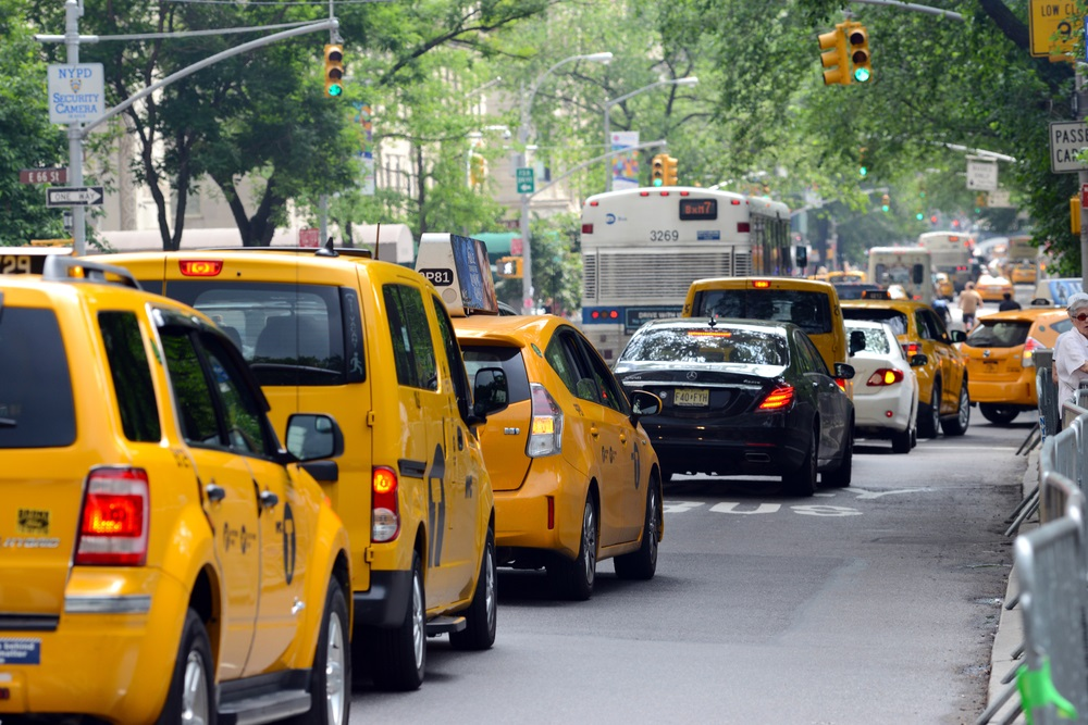 Uber, Lyft and Taxis
