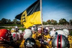 Die Lions aus Baden-Württemberg hielten ihre Farben und ihre Landesfarbe hoch und holten sich den Titel 2014.