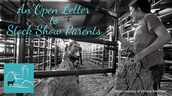 An Open Letter to Stock Show Parents