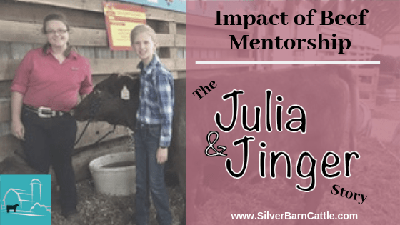 Impact of Beef Mentorship: The Julia and Jinger Story