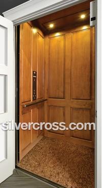 Home Elevators | Hardwood Interior | Silver Cross
