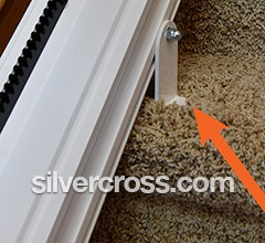 Stairlift Rail Mounting Stair   Silver Cross
