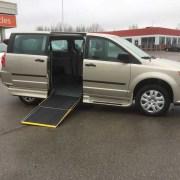 2016 Savaria Side Entry Dodge Grand Caravan CVP w/Rear Air