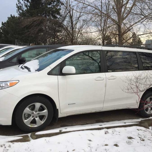 2017 Savaria Rear Entry for Toyota Sienna LE | Wheelchair Vans