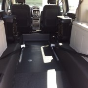savaria dodge grand caravan wheelchair van