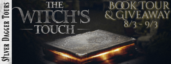 The Witch's Touch Book Tour $20 Amazon Gift Card Giveaway