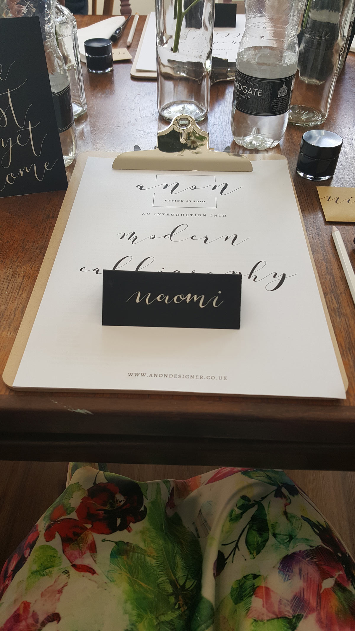 modern calligraphy plymouth