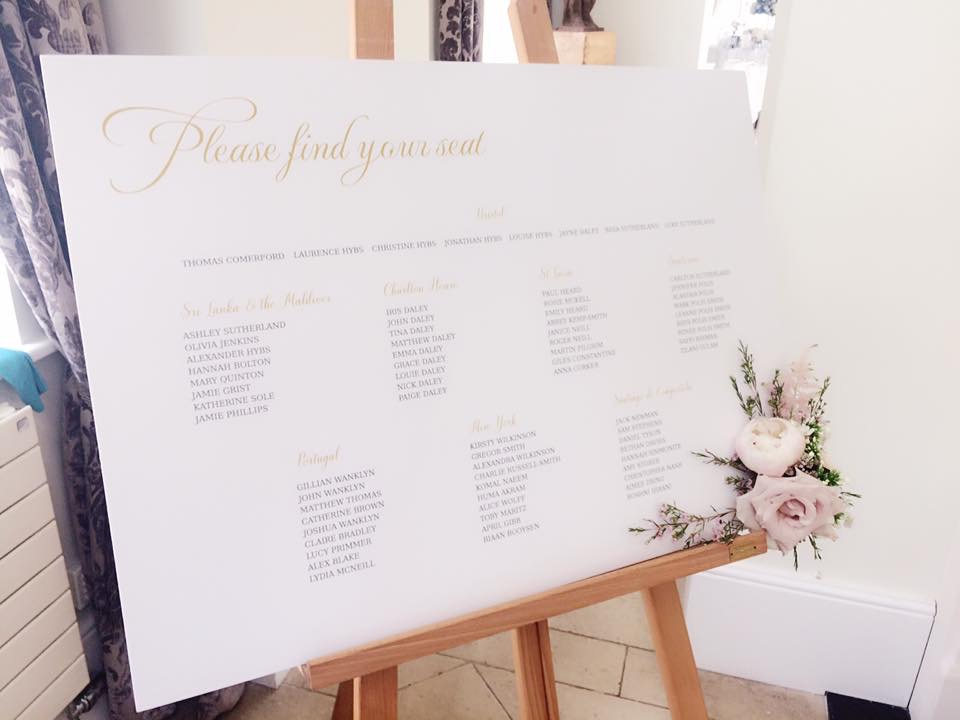 A1 5mm mounted table plan