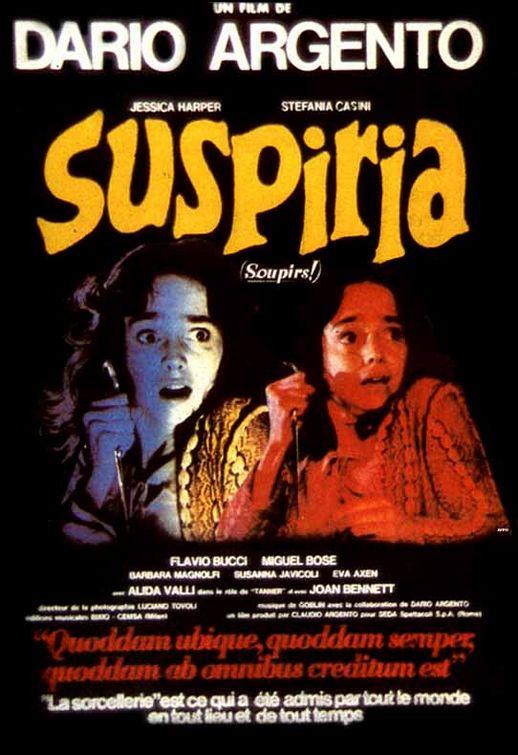 SUSPIRIA Movie Promo POSTER Italian B Jessica Harper Joan Bennett Alida Valli
