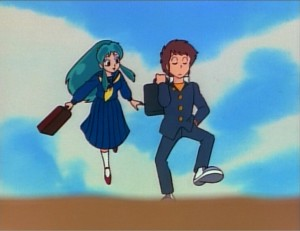 Oh my god! Knee-length skirts in an anime!