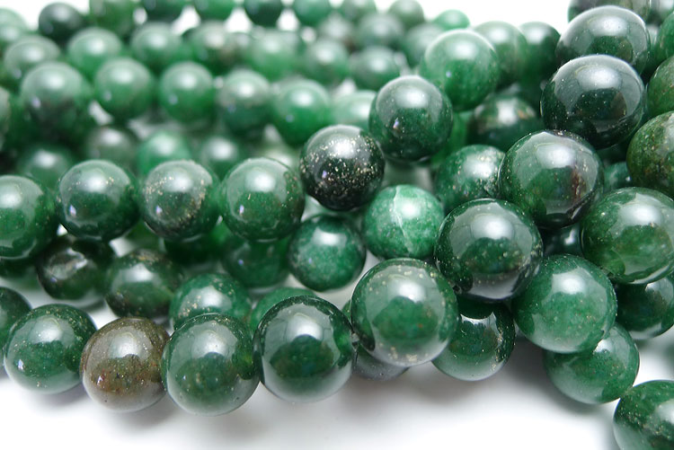 Agate Beads Green 10mm Round