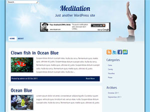 Meditation WordPress Theme