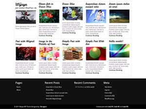 Wijaya WordPress Theme